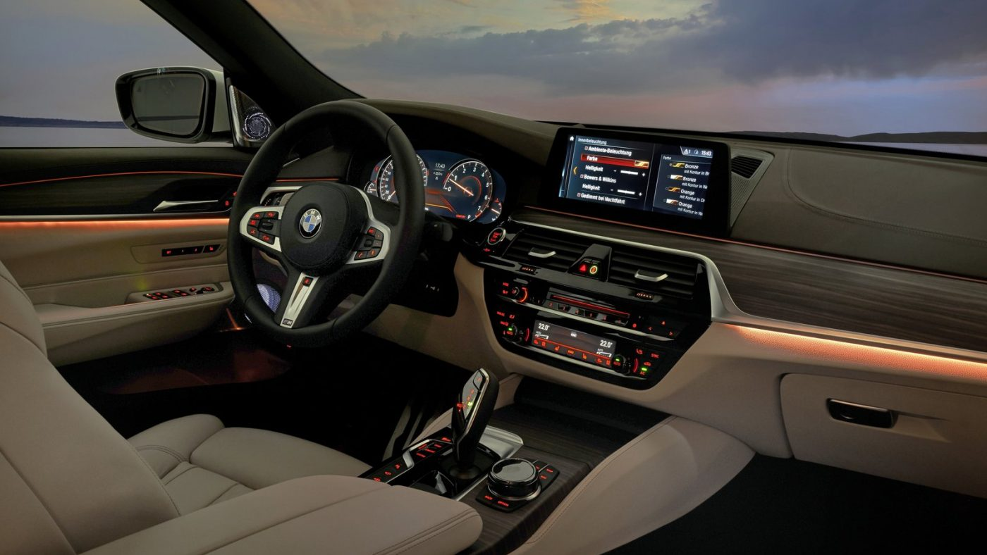 BMW Série 6 Gran Turismo interior
