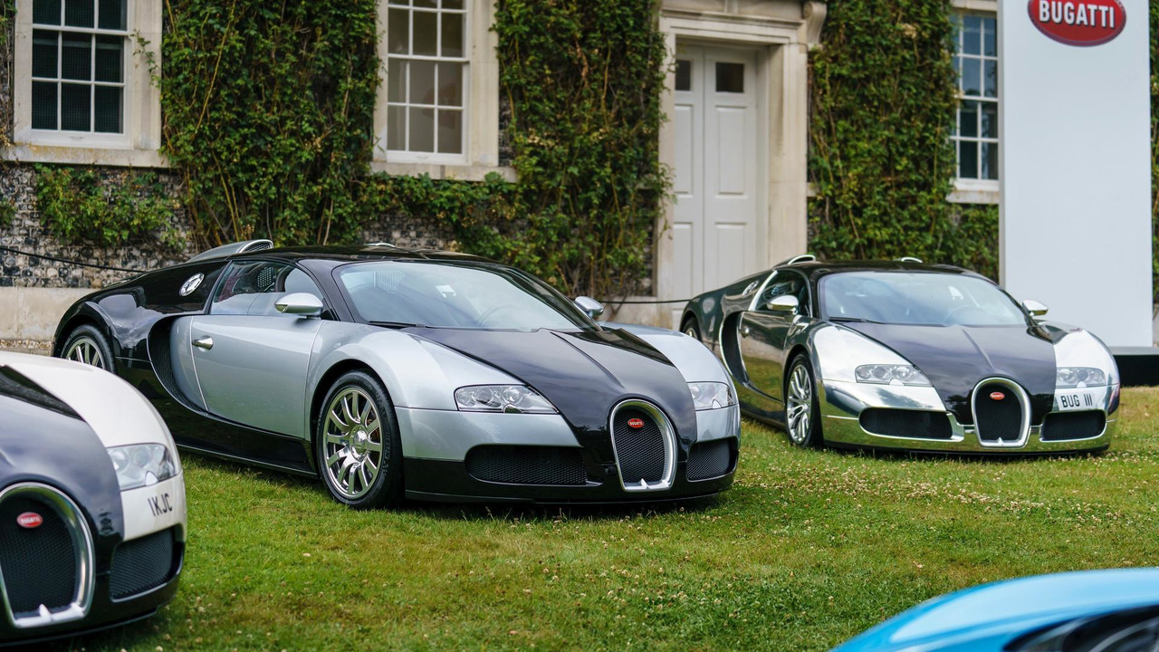 Bugatti Veyron em Goodwood