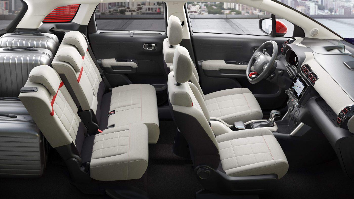 2017 Citroën C3 Aircross - interior