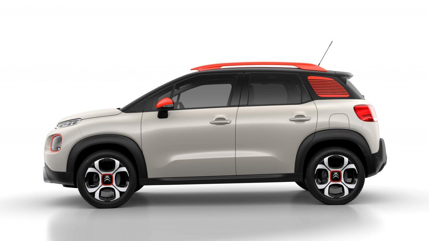 2017 Citroën C3 Aircross - perfil