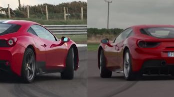 Ferrari 488 vs Ferrari 458 Speciale