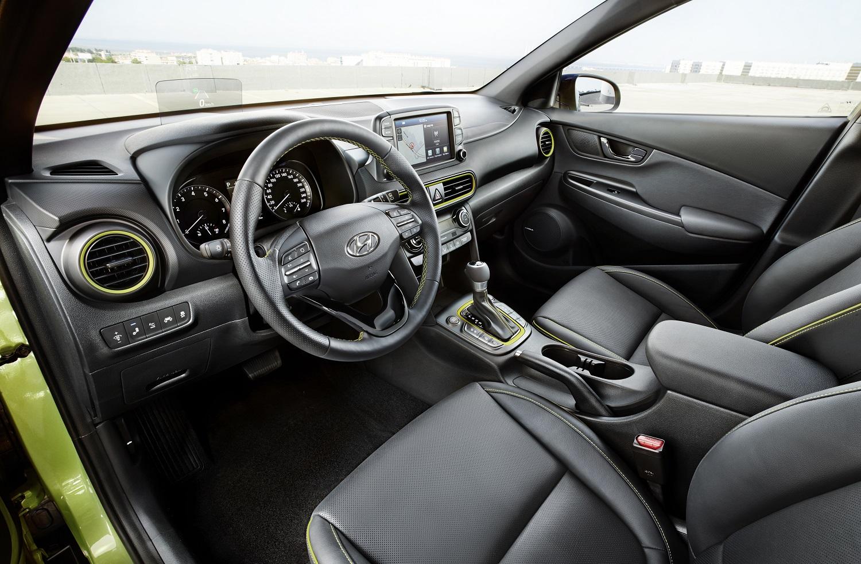 A qualidade do interior foi uma das grandes apostas da Hyundai no novo Kauai.