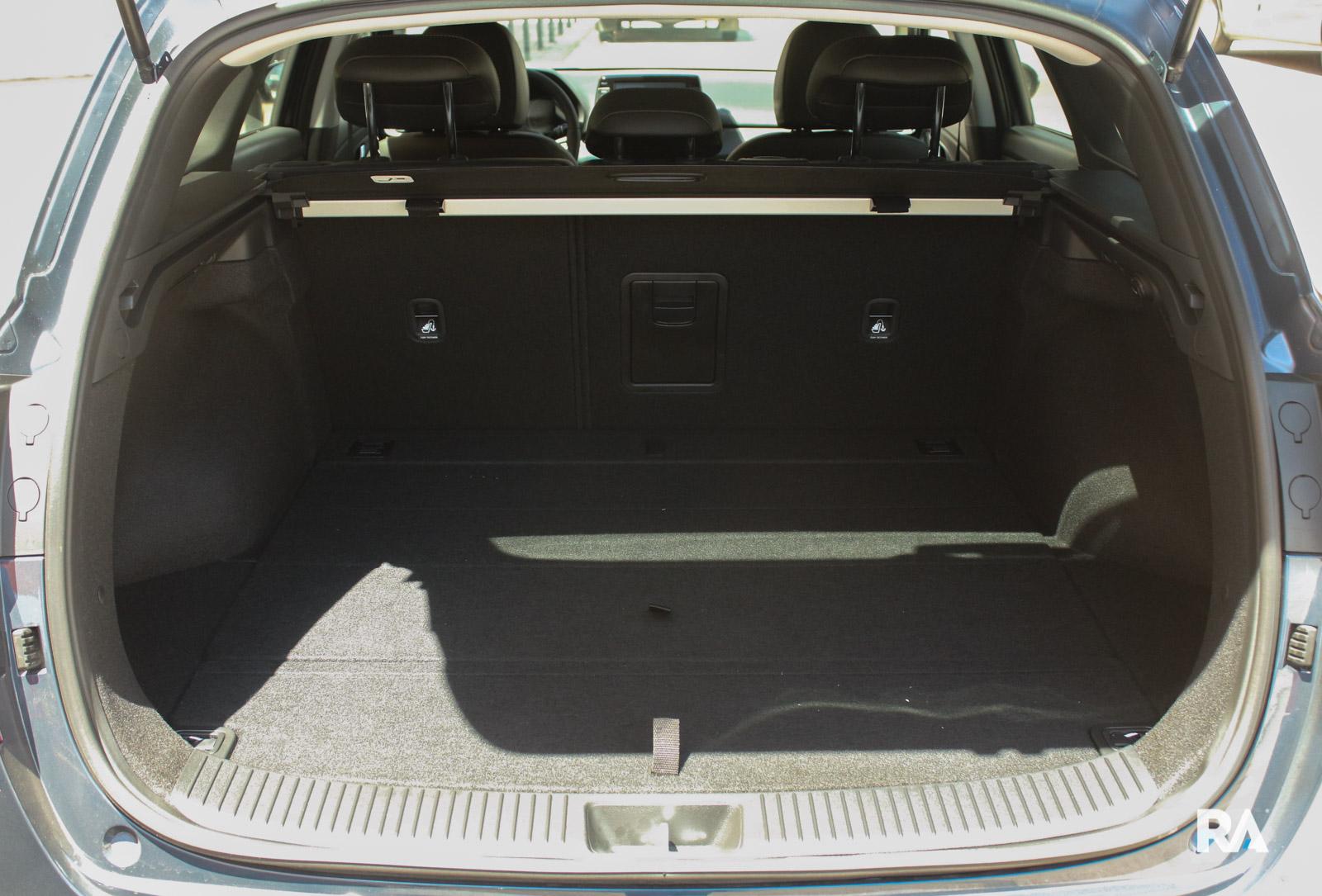 Hyundai i30 SW - bagageira