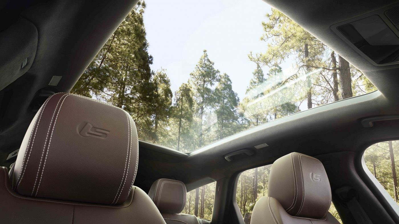 2017 Jaguar XF Sportbrake - teto panorâmico