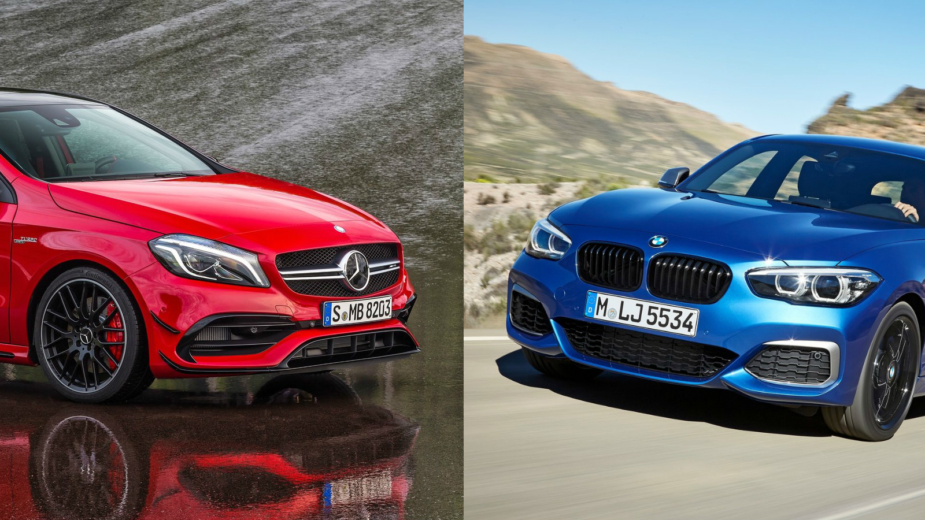 Mercedes-AMG A45 4MATIC vs BMW M140i - 400 cavalos