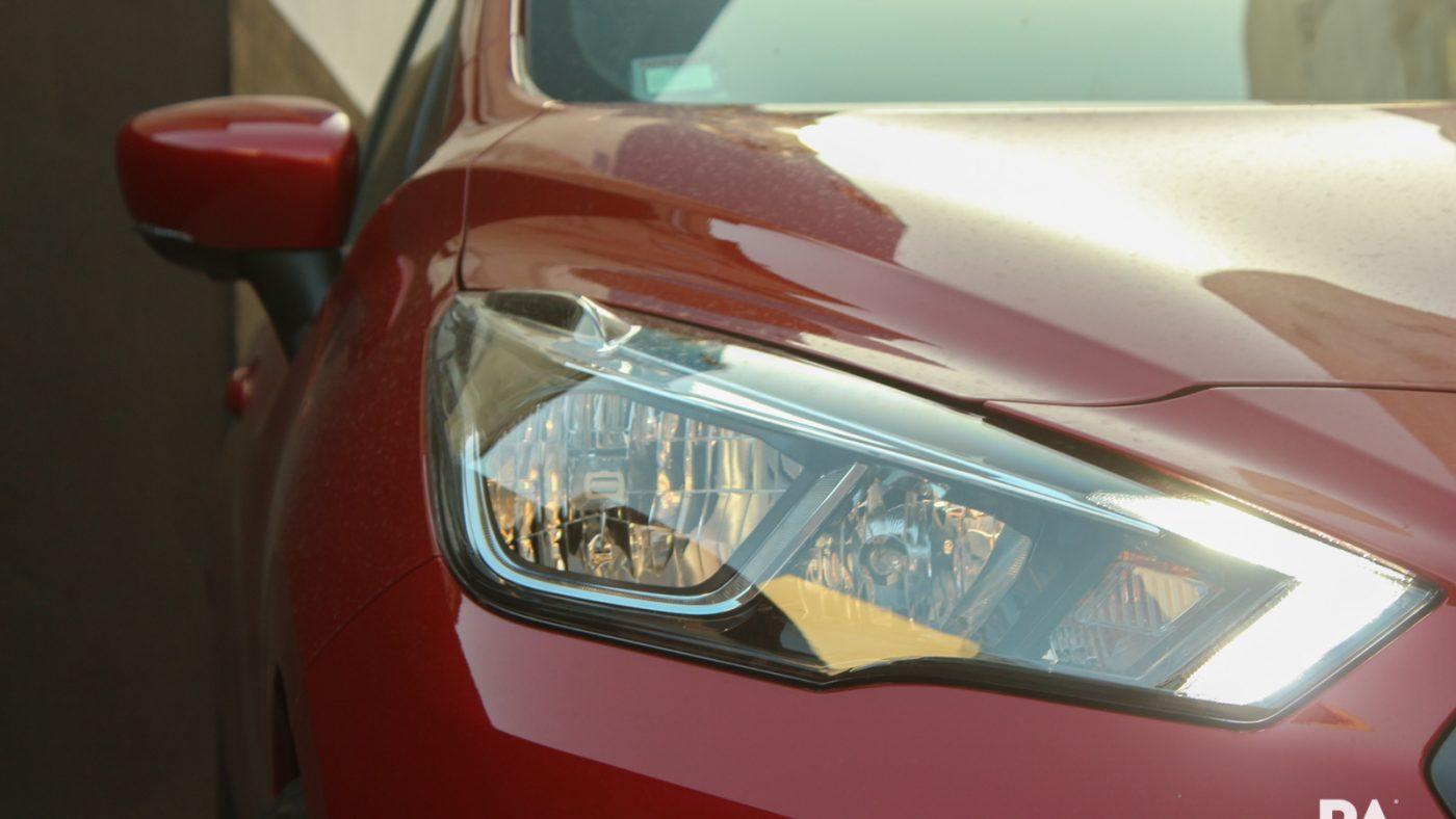 Nissan Micra IG-T Tekna - detalhe