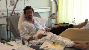 Richard Hammond no hospital