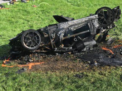 Rimac Concept_One ardeu após acidente com Richard Hammond