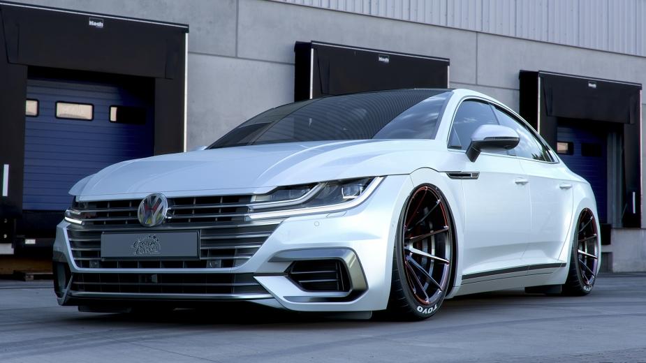 Vw Arteon Stance >> Volkswagen Arteon aderiu ao «stance»... Ok, mais ou menos