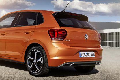 2017 Volkswagen Polo - detalhe traseira