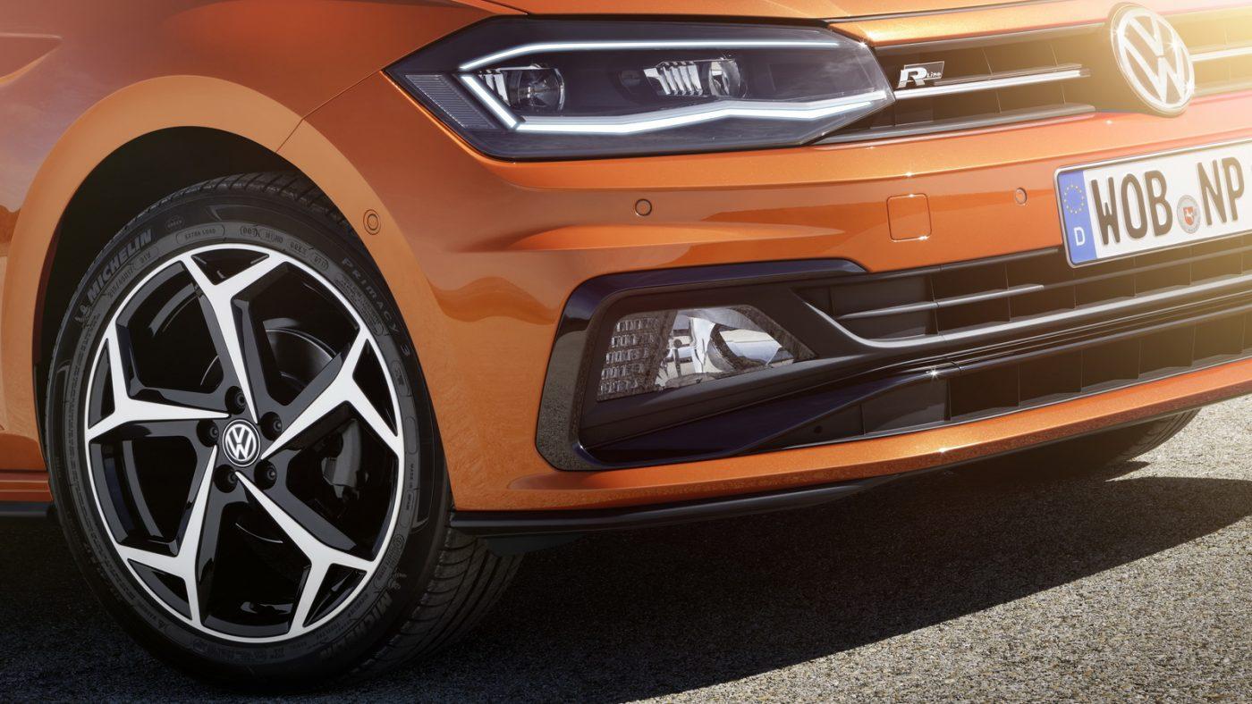 2017 Volkswagen Polo - detalhe frente