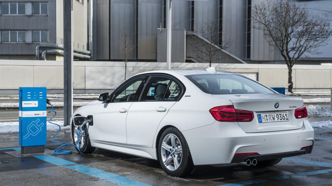 BMW Série 3 híbrido