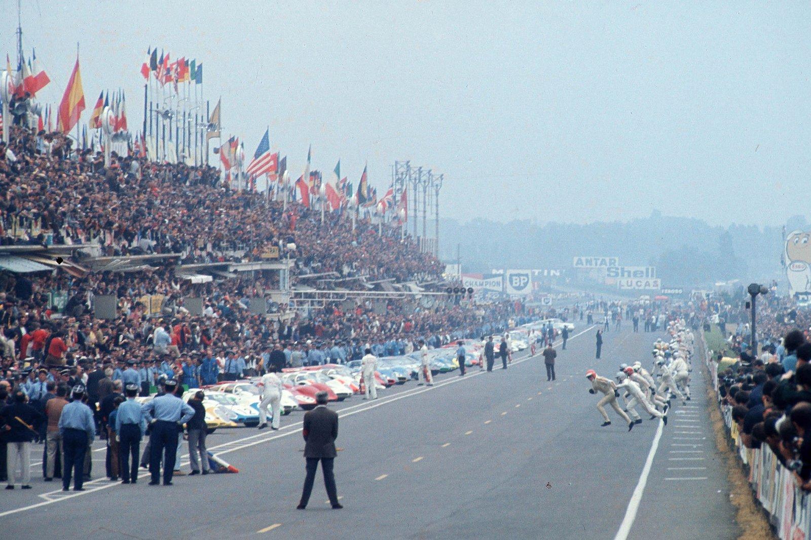 Partida em Le Mans 1969