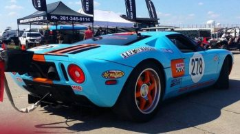 M2K Motorsports Ford GT na Texas Mile