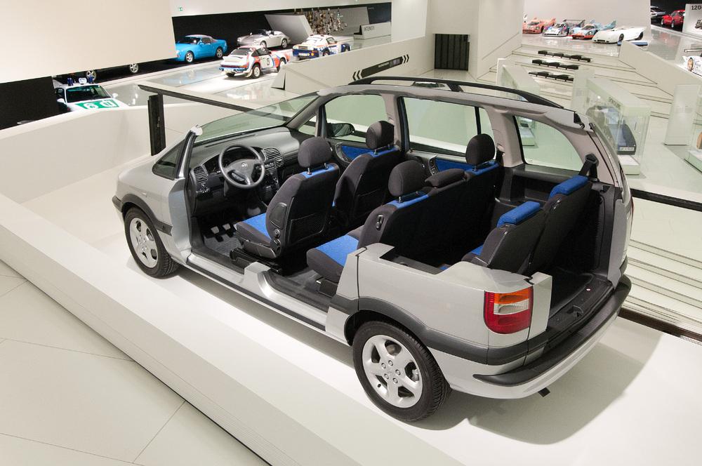 Opel Zafira Porsche
