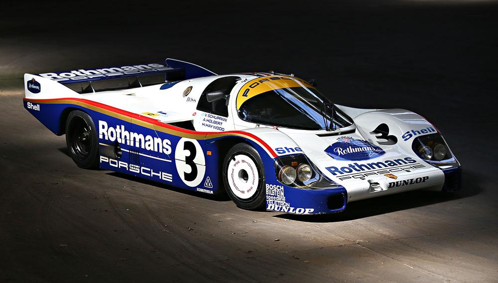 Porsche 956-003 que venceu Le Mans (1983).