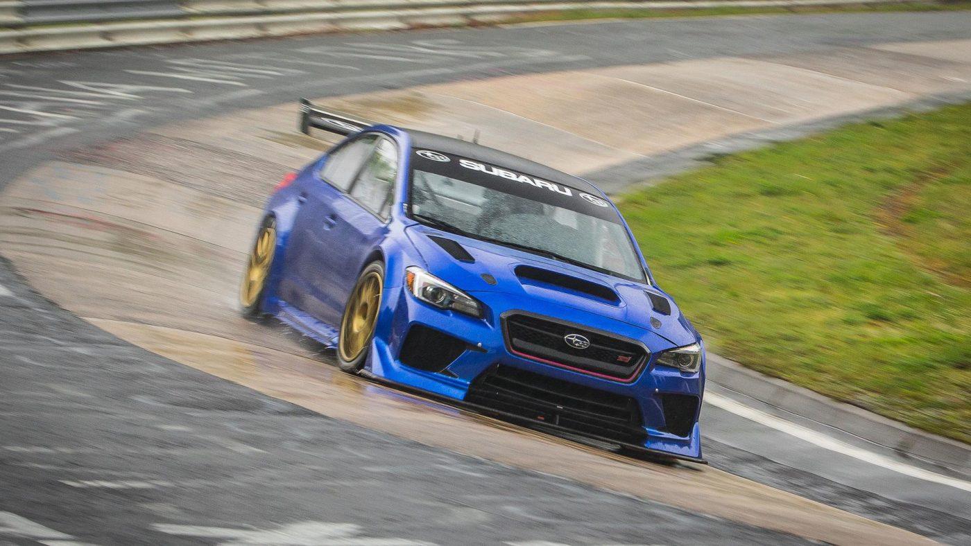 Subaru WRX STi Type RA - Nurburgring