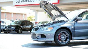 Mitsubishi Lancer Evo IX de 2006, com 15 km, à venda