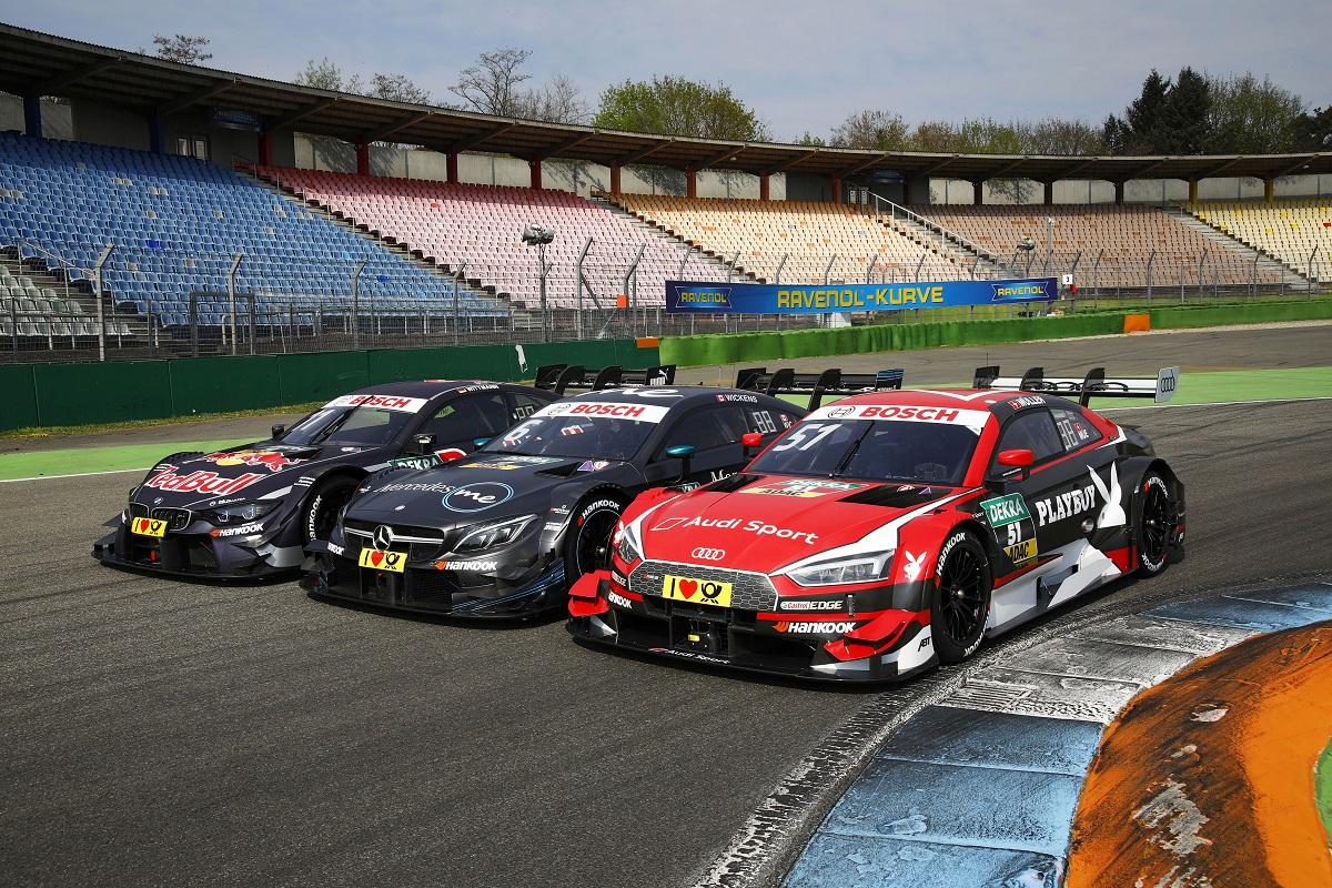 DTM: BMW M4 DTM, Mercedes-AMG C63 AMG, Audi RS5 DTM