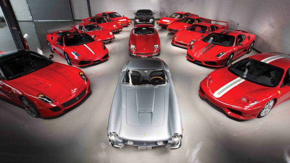 Ferrari Performance Collection - leilão RM Sotheby's, Monterey