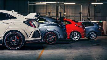 Honda Civic Type R gerações