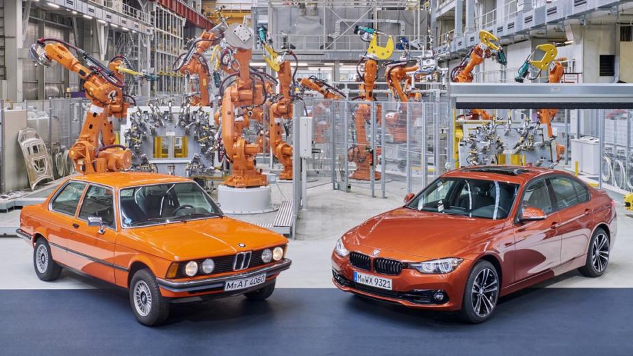 BMW Série 3 F30 com BMW Série 3 E21