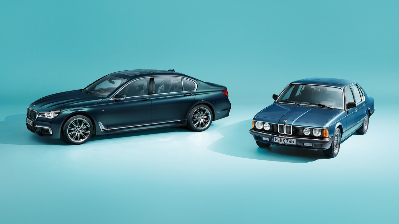 BMW Série 7 Edition 40 Jahre com BMW Série 7 E23