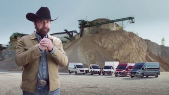 Chuck Norris e Fiat Ducato