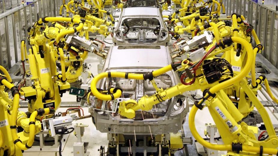Produção automóvel 2018