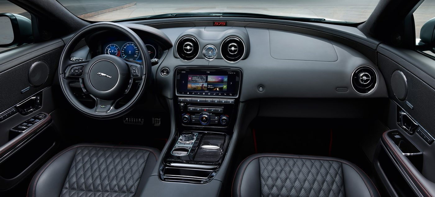 Jaguar XJR - interior