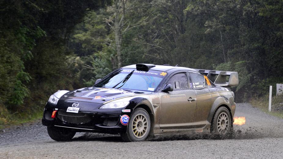 Mazda RX-8, Rali, Nova Zelândia