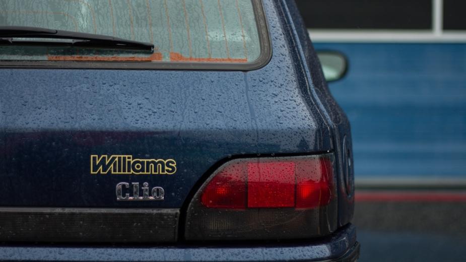 Farol traseiro do Renault Clio Williams