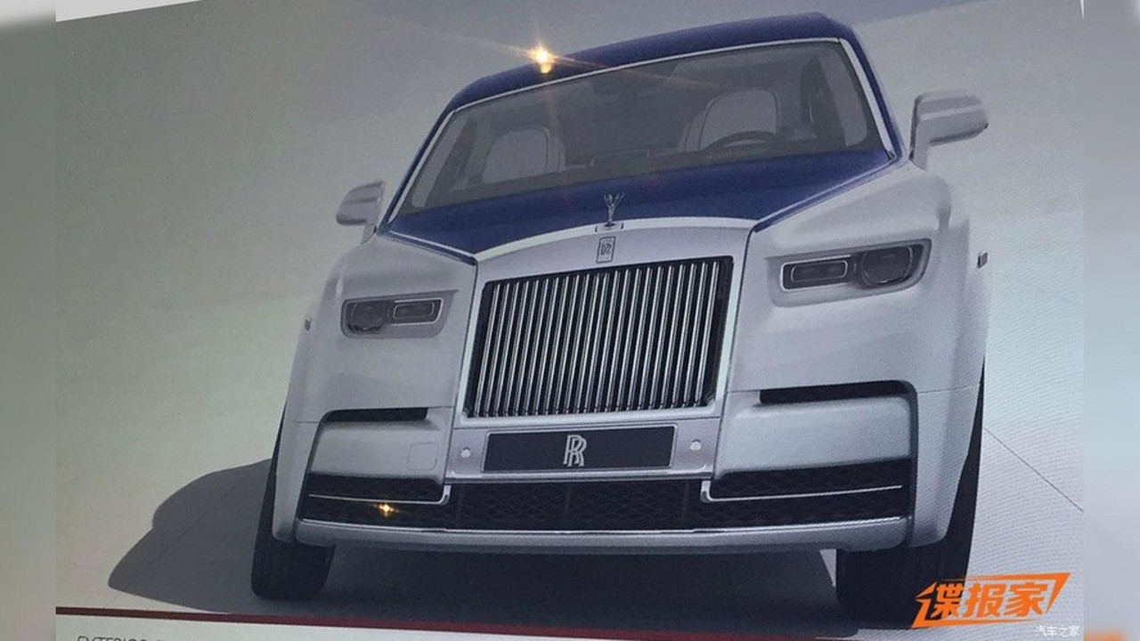 Rolls-Royce Phantom leak