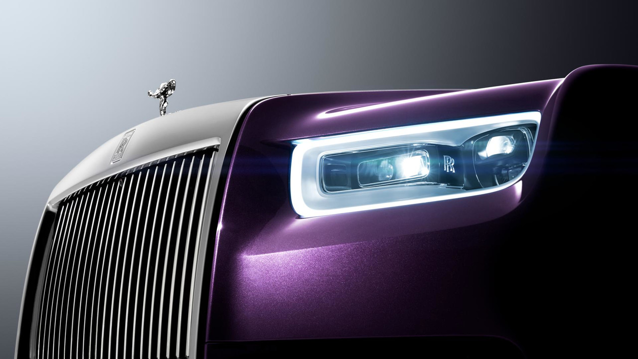 Rolls-Royce Phantom - pormenor frente