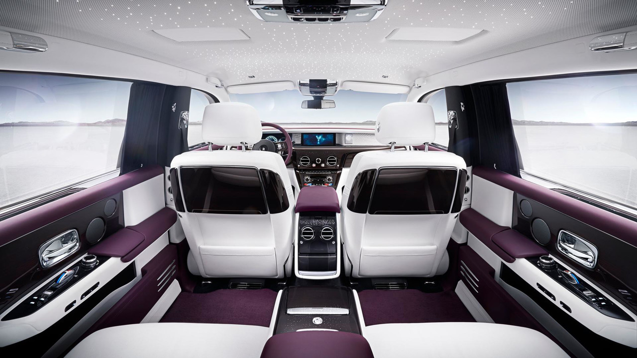 Rolls-Royce Phantom - interior