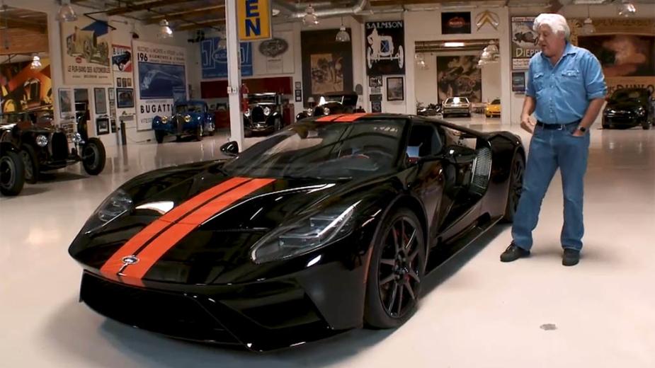 Jay Leno com o seu Ford GT