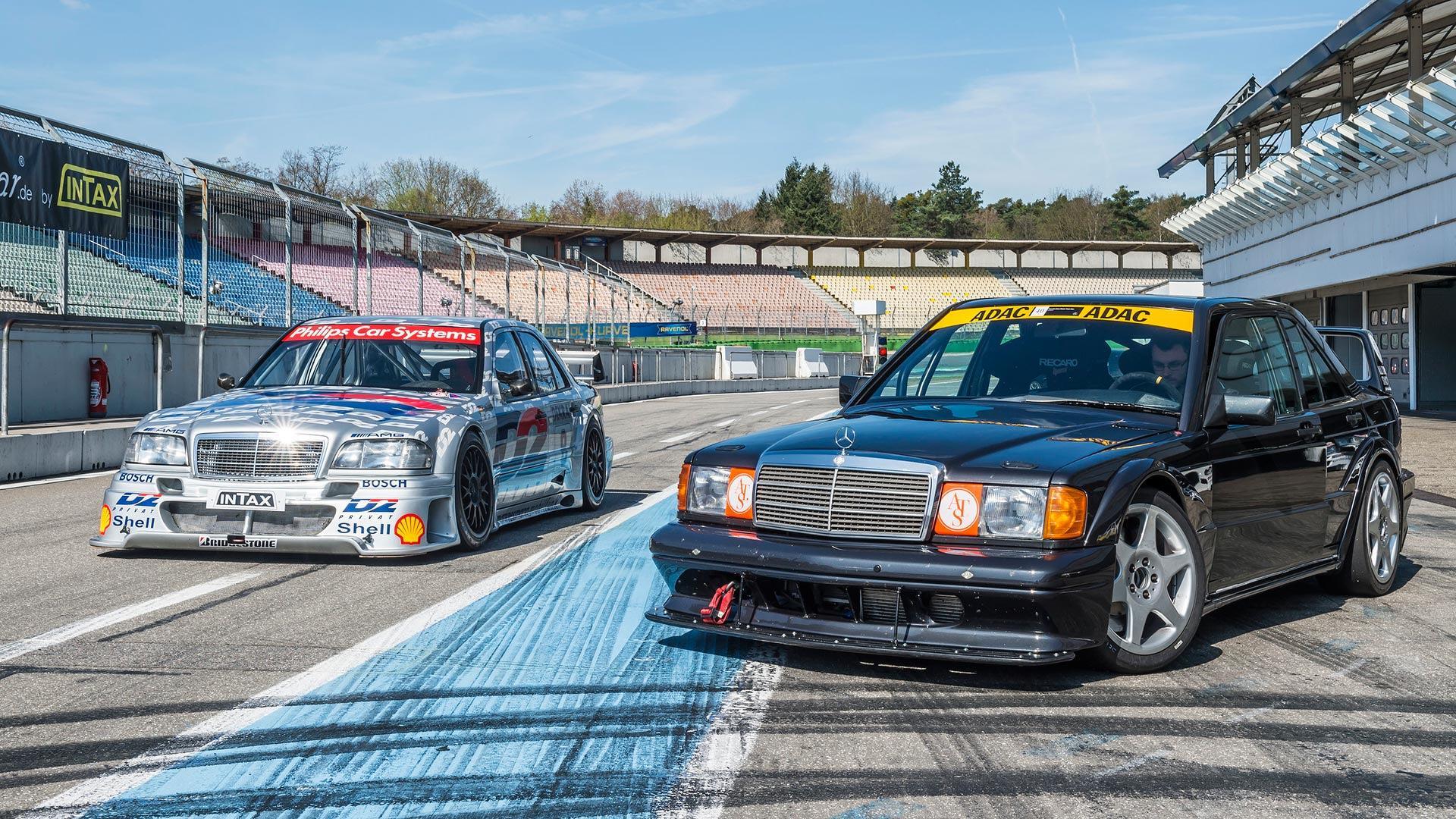 Mercedes-Benz 190E 2.5-16 Evolution II - recriação