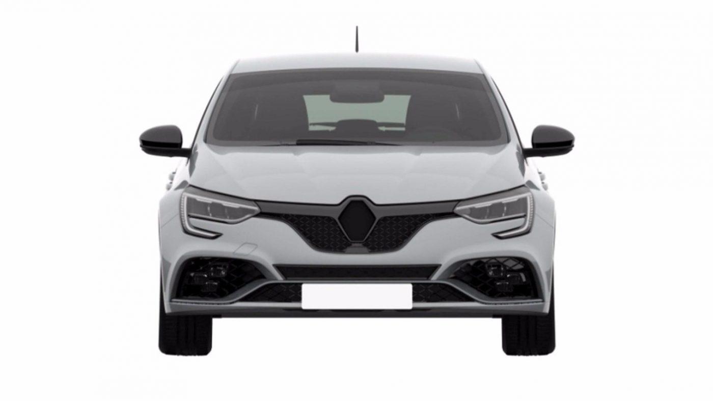 Renault Megane RS - registo patente