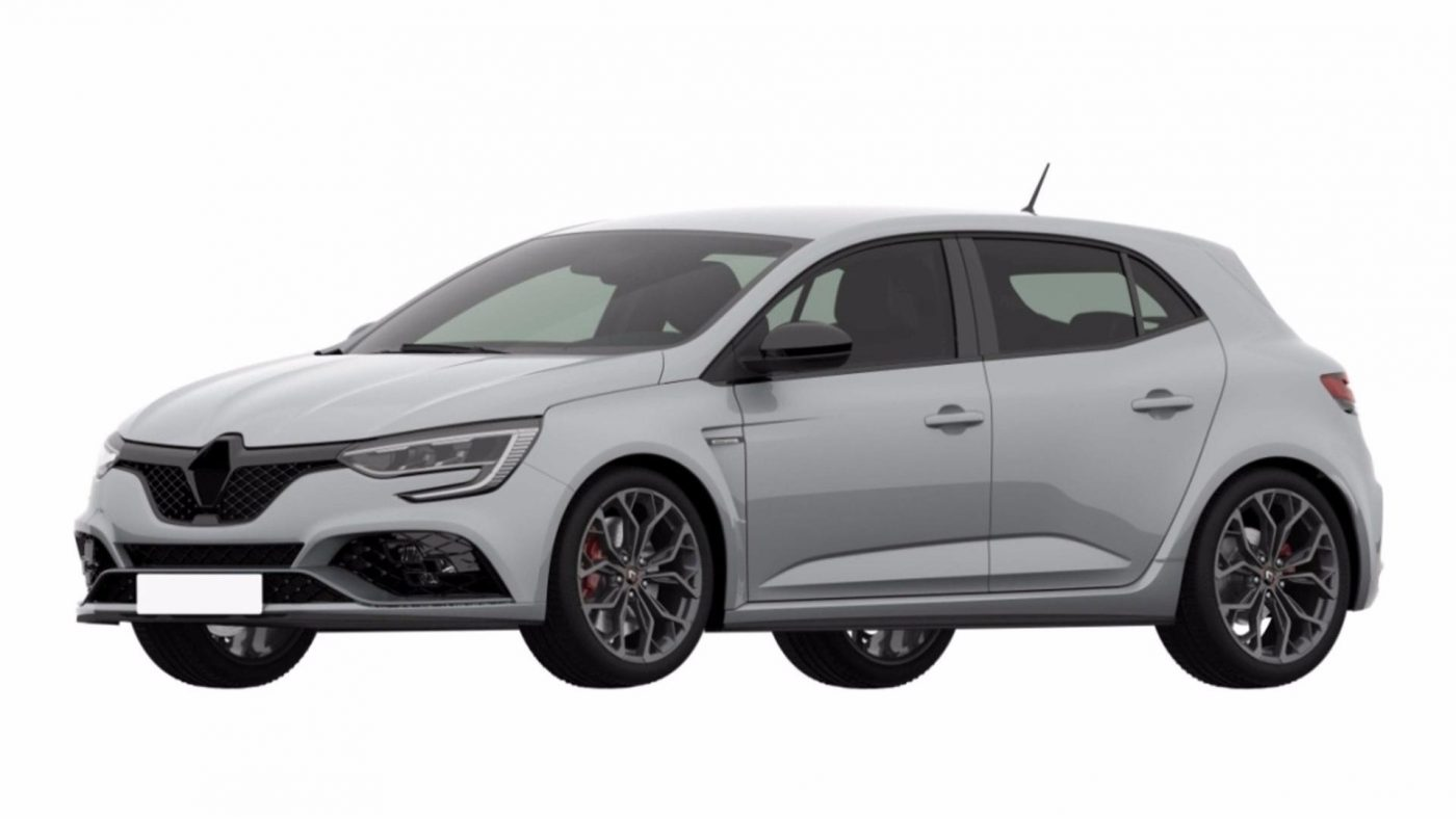 Renault Megane RS - registo patente