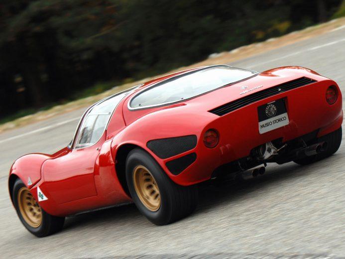 Alfa Romeo 33 Stradale Protótipo