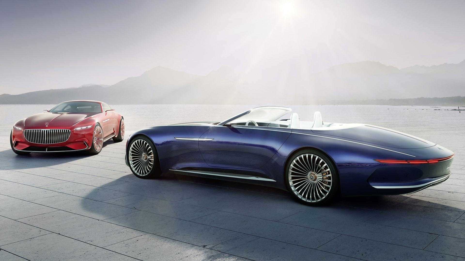 Vision Mercedes-Maybach 6 Cabriolet e Coupé