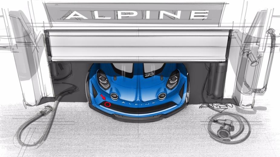 Alpine A110 Competição teaser