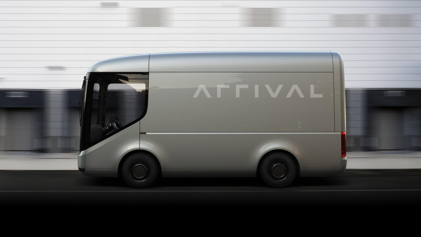 Arrival Royal Mail electric truck