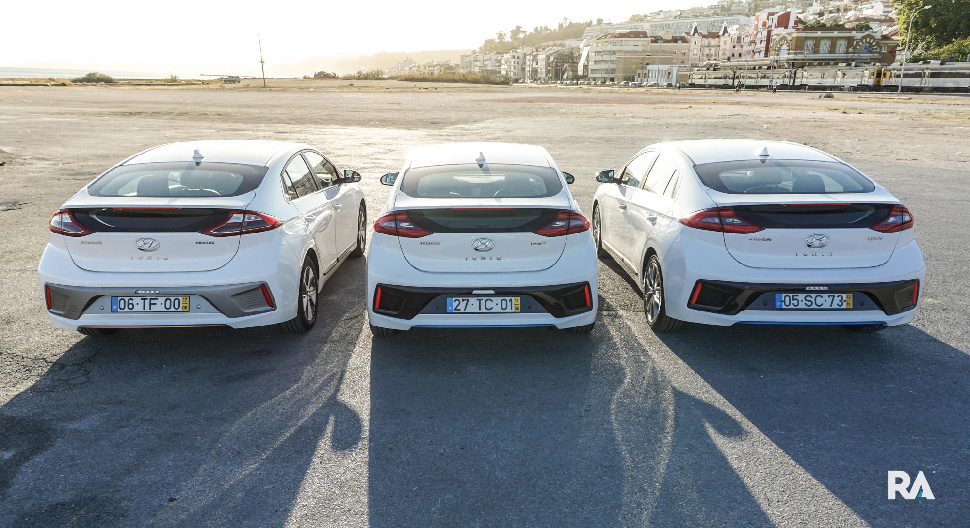 Hyundai Ioniq comparativo