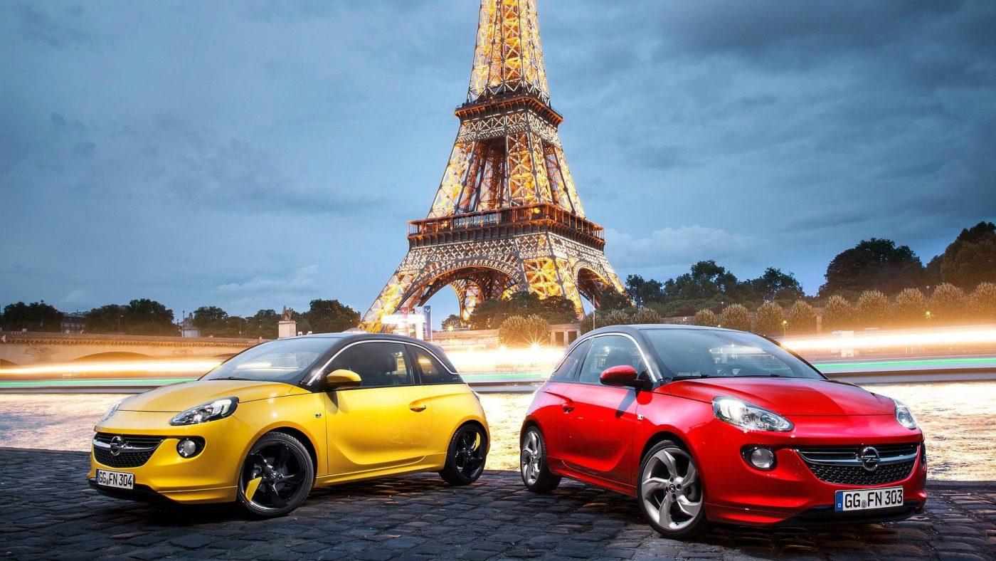 Opel Adam em Paris