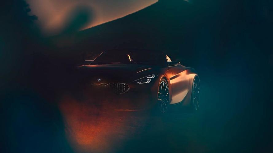 Primeiras imagens do novo BMW Z4 Concept