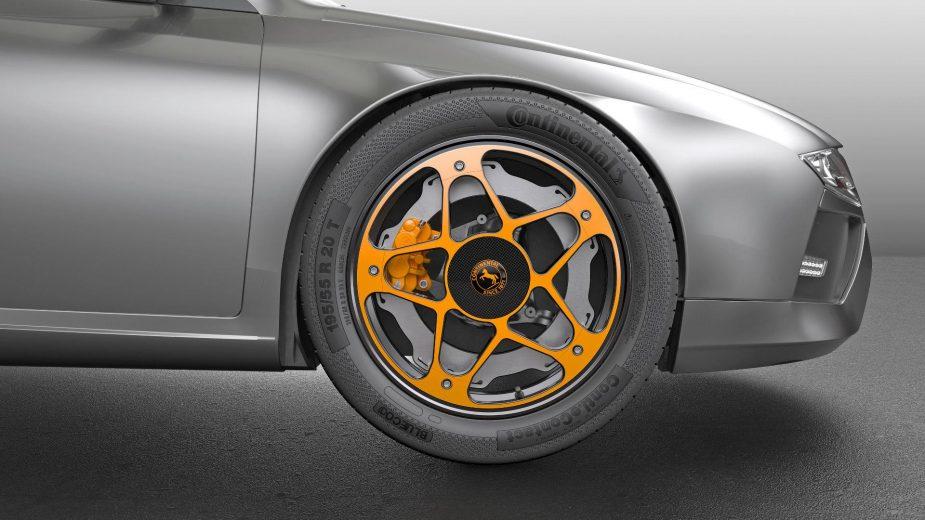 Continental reinventa a roda