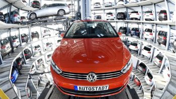Volkswagen Car Tower