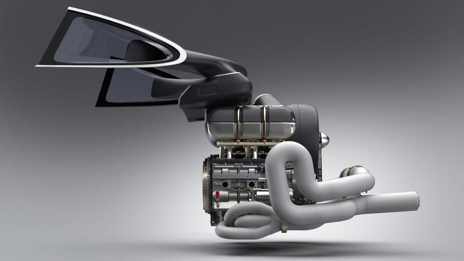 Singer, Williams, Mezger - Seis cilindros Boxer, 4.0. 500 cv