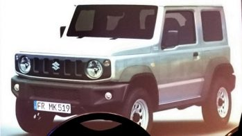 Suzuki Jimny - fuga de informação